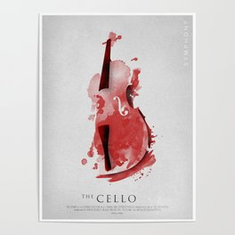 Symphony Series: The Cello Poster