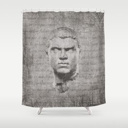 ANCIENT / Head of Caracalla Shower Curtain