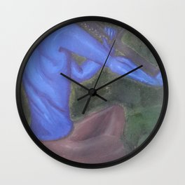 scratched the itch Wall Clock