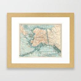 Vintage Alaska Framed Art Print
