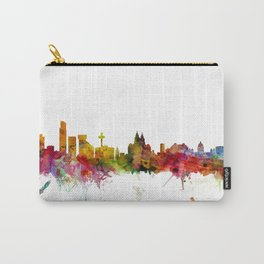 Liverpool England Skyline Cityscape Carry-All Pouch