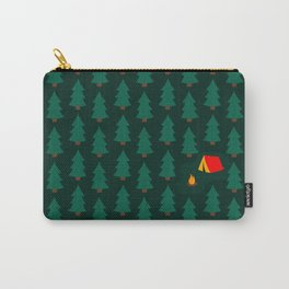 Camping in the Woods Carry-All Pouch