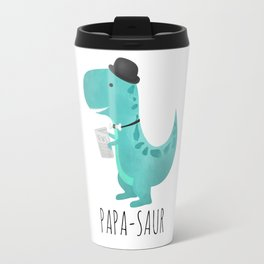 Papa-saur Travel Mug