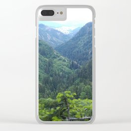 The green valley Clear iPhone Case