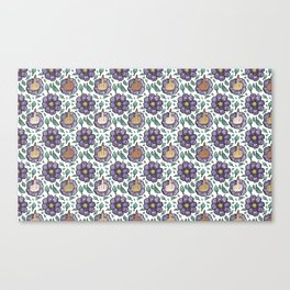 bad flower Canvas Print