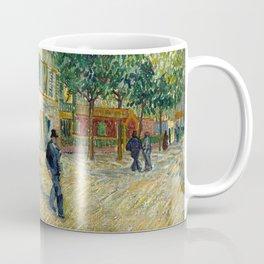 The restaurant Rispal in Asnières -  Van Gogh Coffee Mug