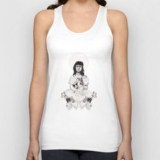 The Girl With Half a Lung Unisex Tank Top
