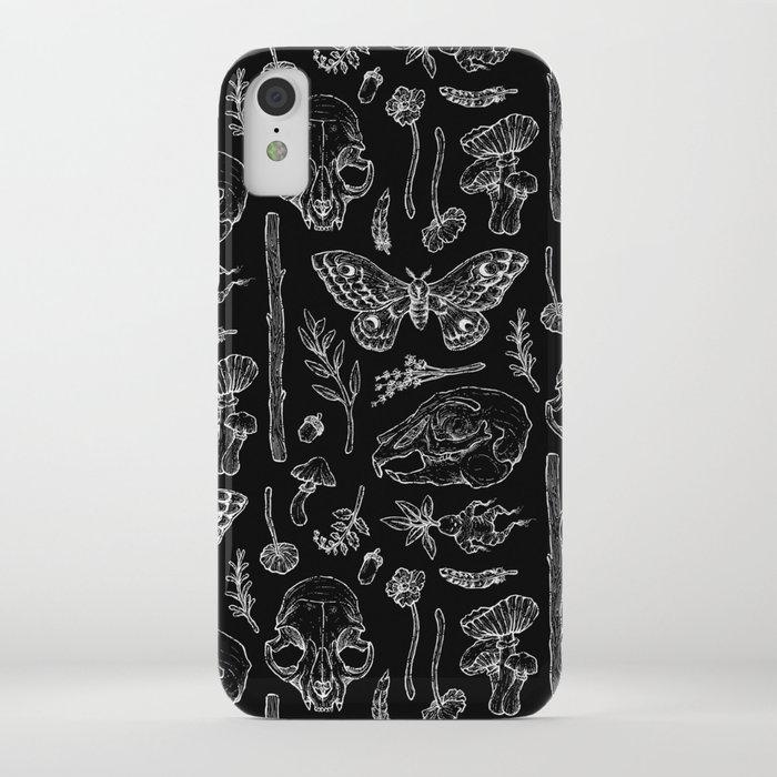 Witchcraft II [B&W] iPhone Case