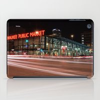 milwaukee iPad Cases featuring Milwaukee Public Market by Jonah Anderson