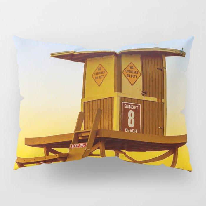 lifeguard tower Pillow Sham
