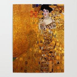 Gustav Klimt portrait painting of Bloch-Bauer Poster