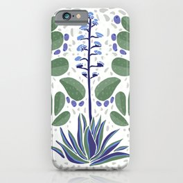 Athanatos green and purple iPhone Case