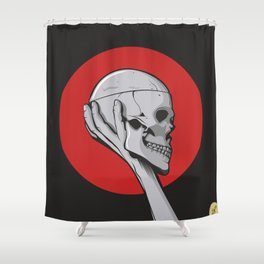 Skull Hamblet  Shower Curtain