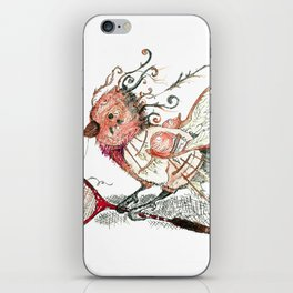 The Wild Badminton Birdie iPhone Skin