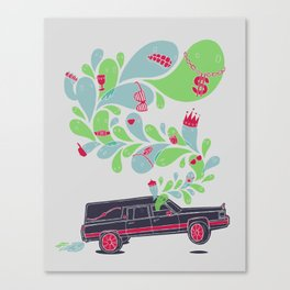 Hauntin' Dirty Canvas Print