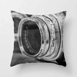 Camera Lens Throw Pillows For Any Room Or Decor Style Society6