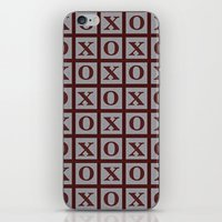 xoxo iPhone & iPod Skins featuring XOXO by LLL Creations