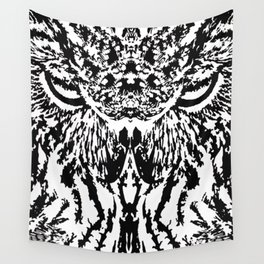 Watchful eyes Wall Tapestry