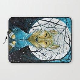 Lobo de Luna Laptop Sleeve