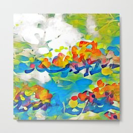 Splashes Of Color Rio de Janeiro by CheyAnne Sexton Metal Print