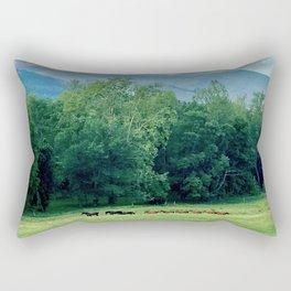 Cove Horses Rectangular Pillow