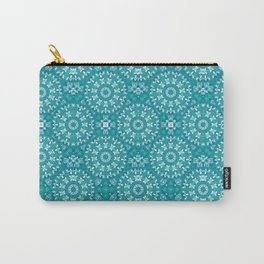 Green circle pattern 3 Carry-All Pouch