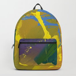 Uprising - Abstract painting Backpack