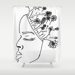Keeping Spring In Mind Shower Curtain