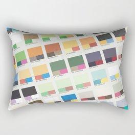 Poke-Pantone 5 (Unova Region) Rectangular Pillow