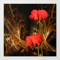 passion Canvas Prints featuring Passion by LudaNayvelt