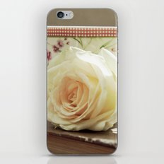 Coffee and Roses iPhone & iPod Skin