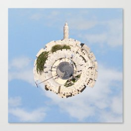 """Worlds in Jerusalem"": Old City Canvas Print"