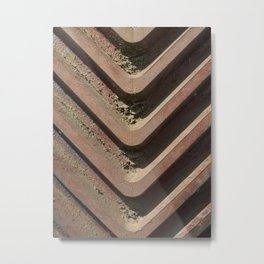 Bevel Metal Print