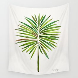 Tropical Fan Palm – Green Wall Tapestry