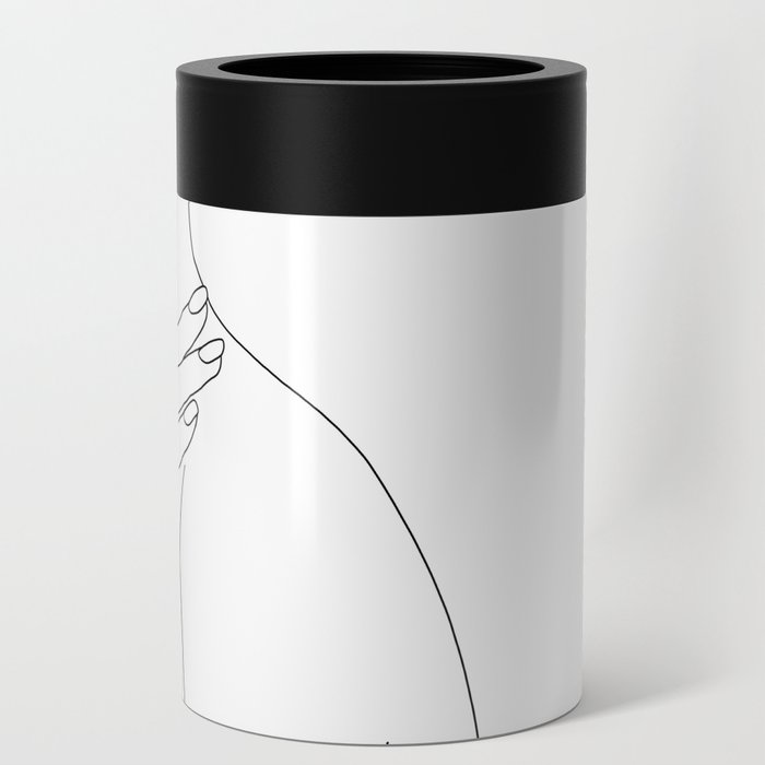 Female body line drawing - Danna Can Cooler