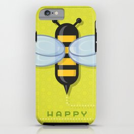 Happy Bee Day iPhone Case