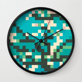 Pixelossom Wall Clock