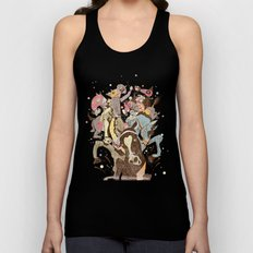 The Great Horse Race! Unisex Tank Top