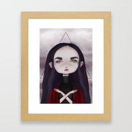 Teen Vampire  Framed Art Print