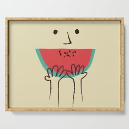 Summer smile Serving Tray