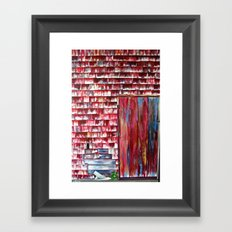 The Boathouse Framed Art Print