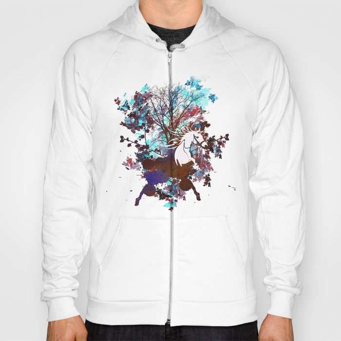 Forest Explosion Hoody