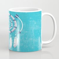 dreamcatcher Mugs featuring Dreamcatcher  by DCWing
