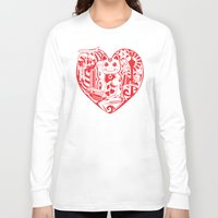 airplanes Long Sleeve T-shirts featuring isabelle by Gray