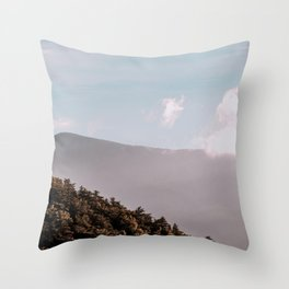 North Georgia Mountains 11 Throw Pillow