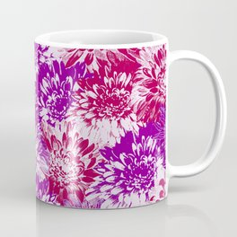 marguerites and chrysanthemums in purple mood Coffee Mug