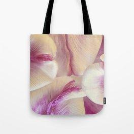 Layered Pink Tote Bag