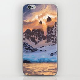 Arctic Pass iPhone Skin