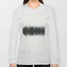 Sound waves -woods Long Sleeve T-shirt