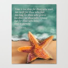 Starfish - Time and Eternity by Christine Fournier Canvas Print